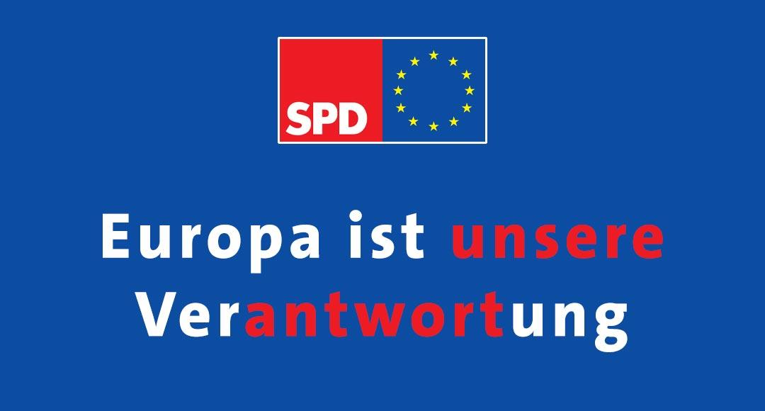 Europawahl, Europa ist unsere Verantwortung, Kevin Kühnert, SPD, Jusos
