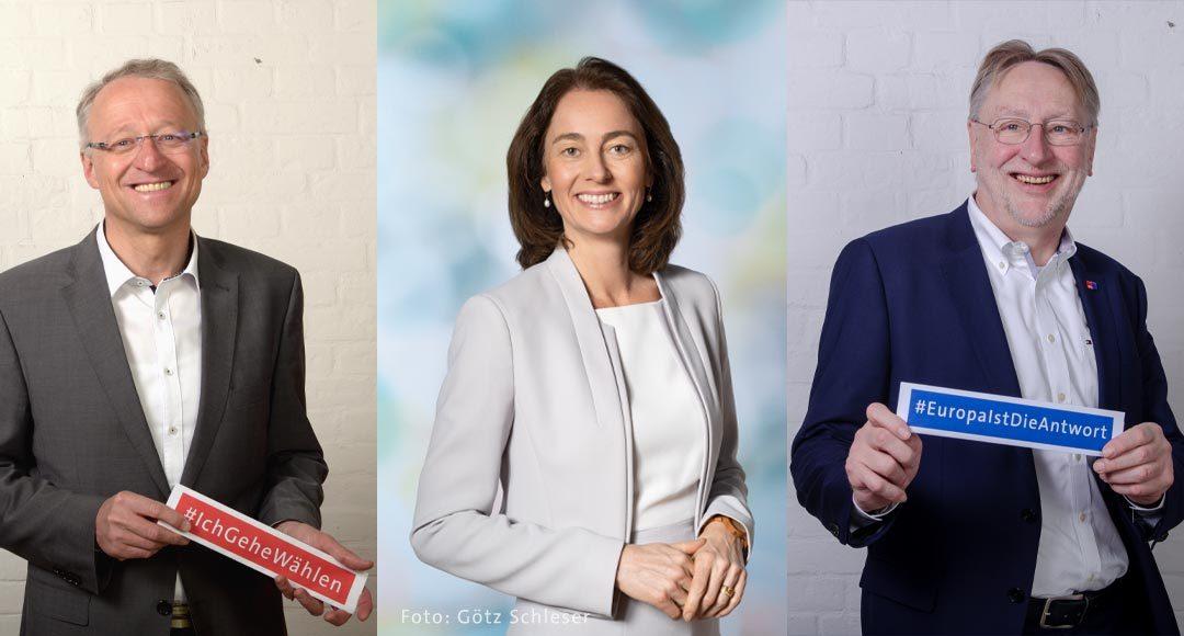 Landratswahl, Europawahl, Europa, Bernd Lange, Katarina Barley, Norbert Meyer, SPD