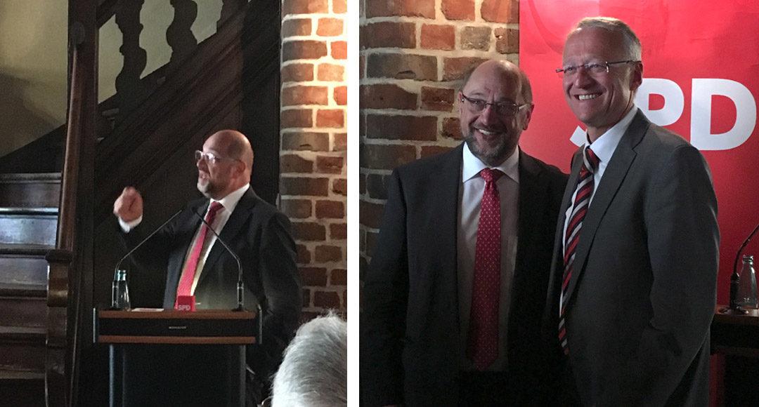 Martin Schulz, Norbert Meyer, SPD, Europawahl, Europa, Wahlen, 2019