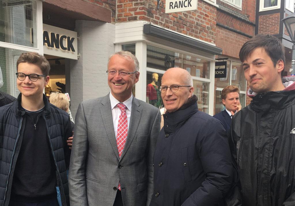 Dr. Peter Tschentscher, erster Bürgermeister Freie und Hansestadt Hamburg, Lüneburg, Klimaschutz, SPD, Metropolregion, Norbert Meyer