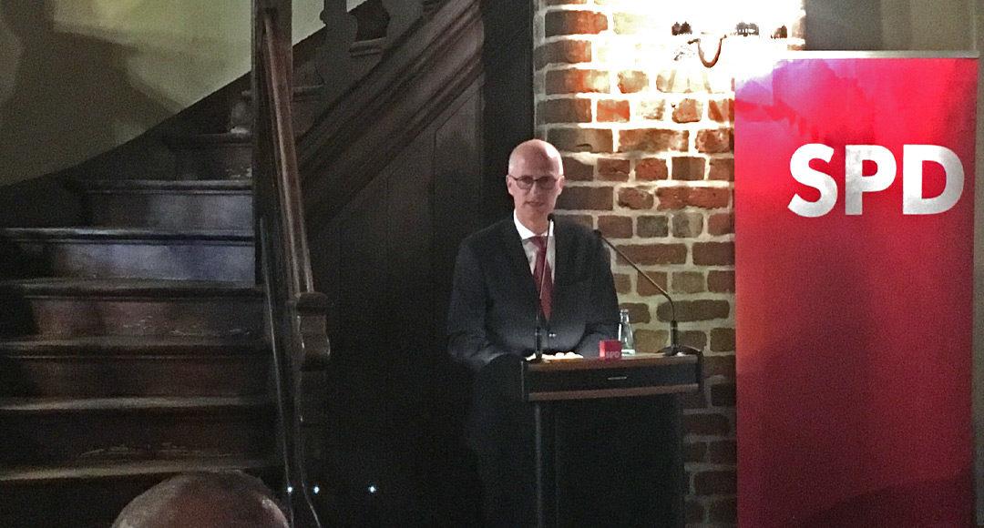 Dr. Peter Tschentscher, erster Bürgermeister Freie und Hansestadt Hamburg, Lüneburg, Klimaschutz, SPD, Metropolregion