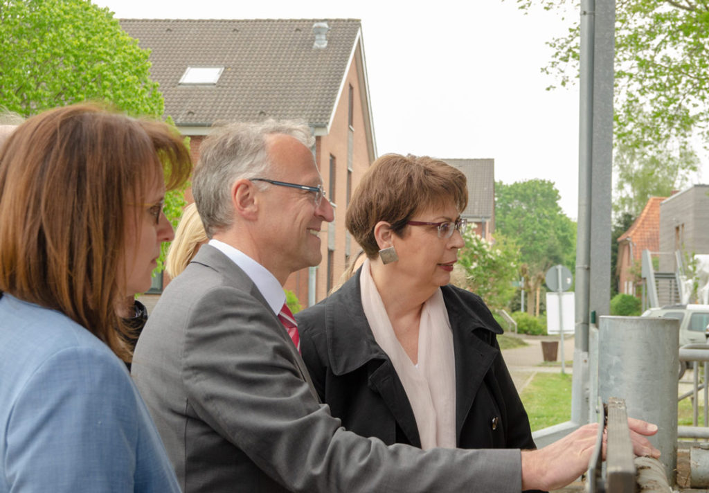 LBZ Echem, Birgit Honé, Norbert Meyer, Anne-Carin Büttner, Landratskandidat, Samtgemeindebürgermeisterkandidatin, SPD, Landwirtschaft, EU-Förderung, Scharnebeck, Echem