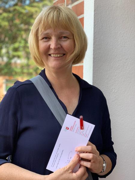 Andrea Schröder-Ehlers, MdL, Niedersächsische Landtag, Abgeordnete, SPD, Mechtersen, Bürgernähe, auf Tour
