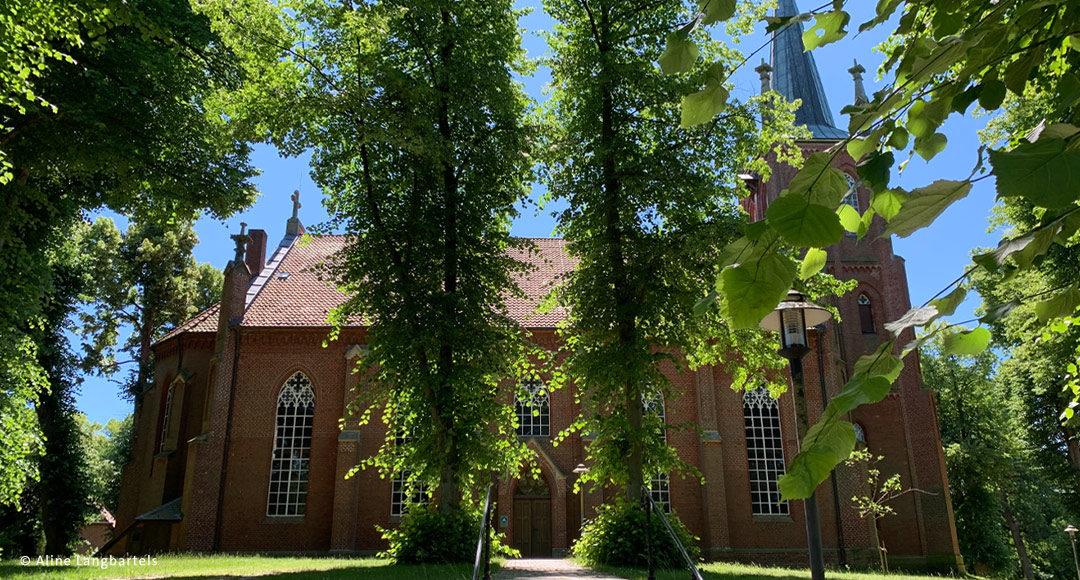 Kirche im neugotischen Stil