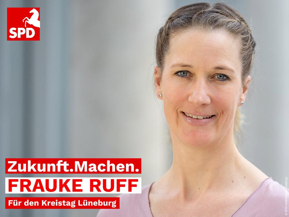 Frauke Ruff SPD Kandidatin für den Kreistag Lüneburg