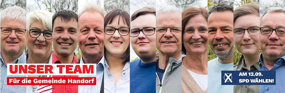 SPD-Kandidat:innen in Gemeinde Handorf