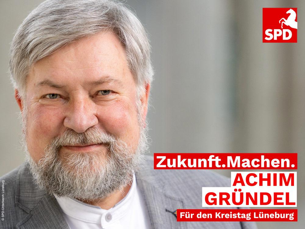 Achim Gründel SPD-Kandidat für den Kreistag Lüneburg