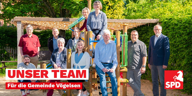 SPD KandidatInnen für Gemeinderat in Vögelsen 2021